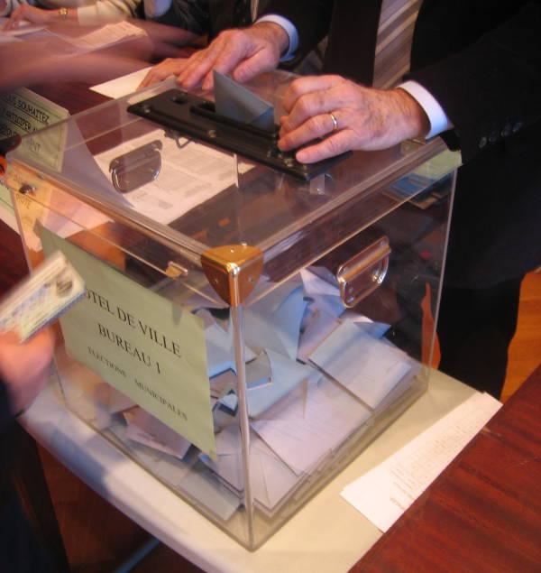Une urne électorale